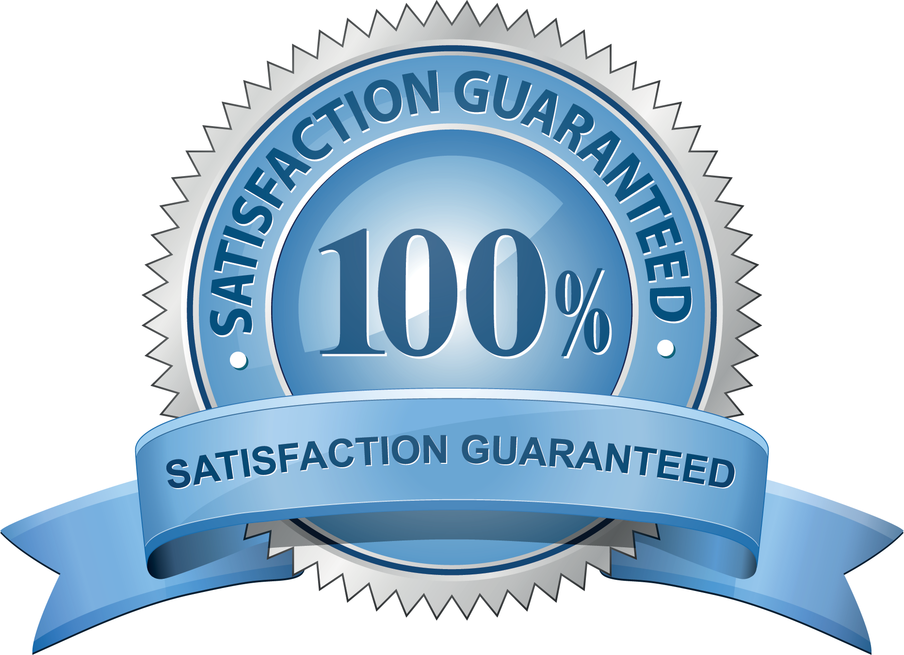 satisfaction guarantee banner