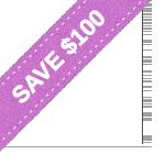 pink discount sash